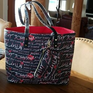 Betsy Johnson All Over Signature Bag